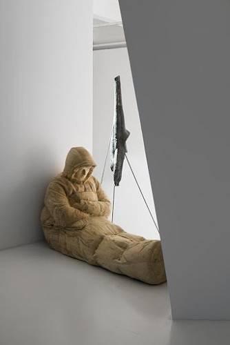 Jeden z exponátů výstavy Kde jsou lvi z MeetFactory.