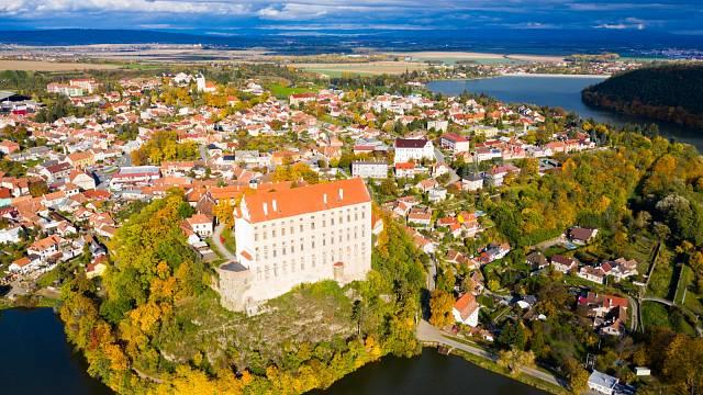 Plumlovský zámek měl mít čtyři křídla, ale nestačily peníze.
