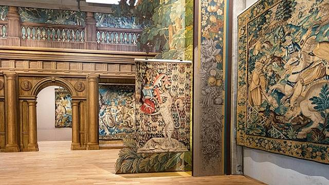 Mezinárodní muzeum tapiserií najdete na Rue Williams-Dumazet v Aubussonu.