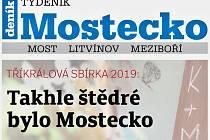 Týdeník Mostecko ze 30. ledna 2019