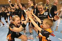 Zisk titulu Evropské město sportu ovlivnila i popularita ženské házené v Mostě. se podílela