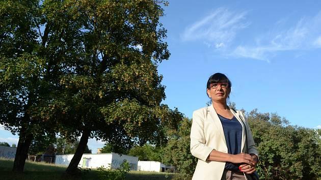 Iveta Theuserová, členka Rady vlády pro záležitosti romské menšiny.