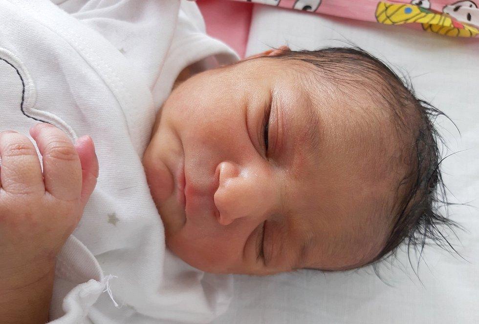 Melani Viraková se narodila mamince Ireně Virakové z Janova 12. února v 8.40 hodin. Měřila 48 cm a vážila 3 kilogramy.