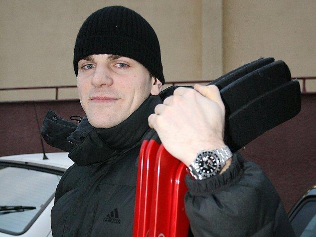 Útočník Pavel Rosa.