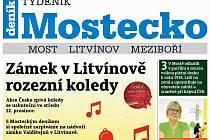 Týdeník Mostecko z 5. prosince 2018