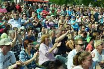 Nejvíce Mostečanů na jednom místě lze vidět jednou ročně na letní Mostecké slavnosti.