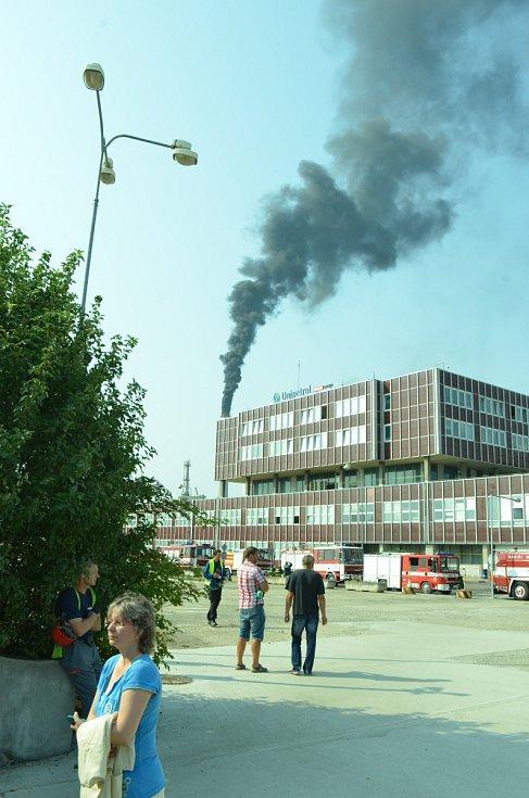Požár v chemičce.