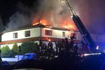 Požár v Litvínově