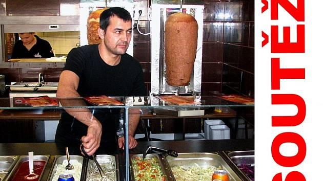 Soutěžte o kebab a další jídla až do 10. dubna.