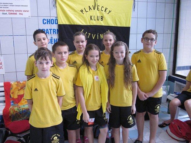 Mladí plavci z Plaveckého klubu Litvínov mají za sebou několik závodů. Klub byl s jejich výsledky spokojený.