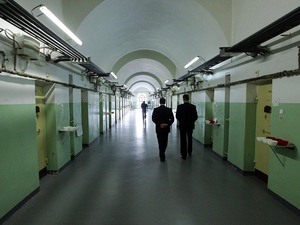 Vazební věznice na Pankráci.