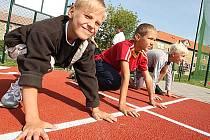Nový sportovní areál v Braňanech