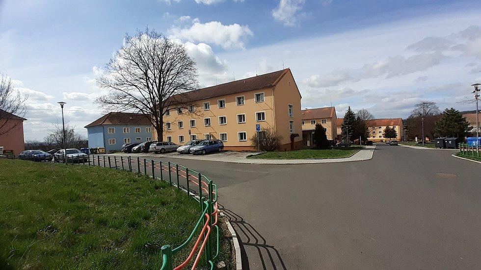 Obec Braňany, sídliště.