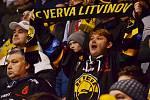 Litvínovští fanoušci mohou v pátek sladkostmi přispět do Mikulášské sbírky pro nemocné děti.