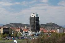 Nejvyšší budova v Mostě.