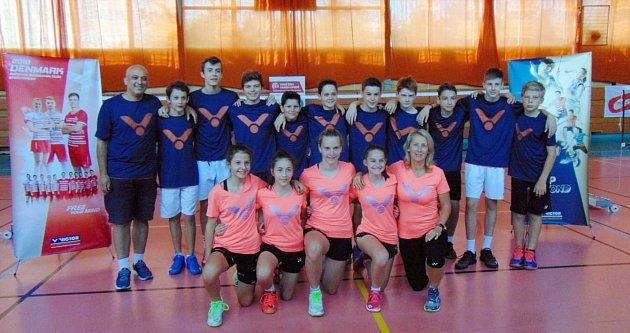 Mezinárodní badmintonové soustředění vMostě. Letos se konal už patnáctý ročník.