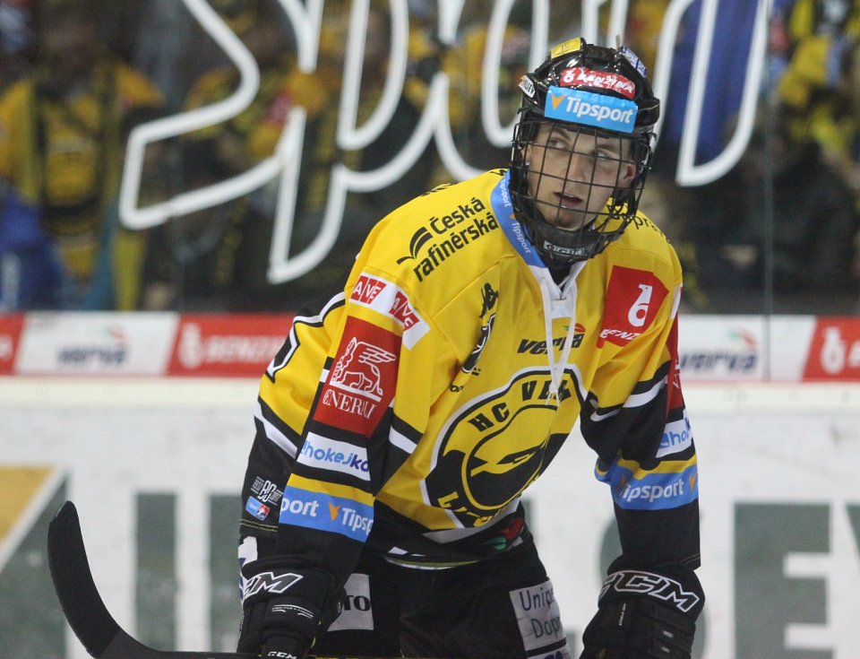 Kristian Reichel v dresu extraligového Litvínova