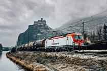 ORLEN Unipetrol převzal první ze čtyř nových lokomotiv Siemens Vectron MS.