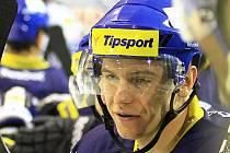 Jakub Strnad v kladenském dresu. Teď může hrát i za Litvínov.