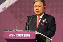 V zóně Triangle proběhlo dnes slavnostní zahájení stavby továrny společnosti Nexen, která v ní bude vyrábět pneumatiky. Nechyběl při tom český premiér Bohuslav Sobotka a prezident společnosti Nexen Byung Joong Kang.