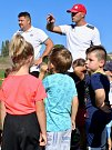 Někdejší reprezentant a prvoligový hráč Petr Johana inspiroval fotbalovou omladinu