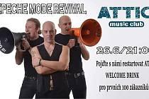 Depeche Mode revival bude v klubu Attic v Litvínově.