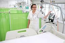 Nová oddělení NIP a DIOP v mostecké nemocnici vede primářka Lucia Prusíková.