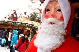 Drážďany se chystají na Vánoce.