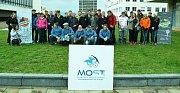 Extrémní golfisté soutěžili v sobotu v centru Mostu.