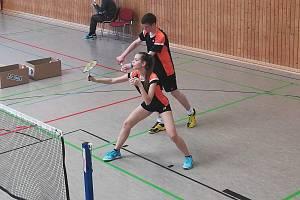 Badmintonový turnaj v německém Ilmenau.