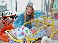 Krásky ze soutěže Miss Czech Republic navštívily děti v mostecké nemocnici