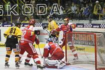Hokejisté Litvínova hostili na své ledové ploše tým z Českých Budějovic