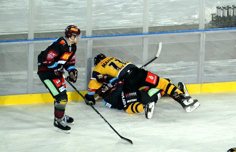Litvínov nakonec se Spartou těsně 2:3 prohrál.