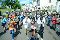 Studentský Majáles zahájil v Litvínově Valdštejnskou slavnost.