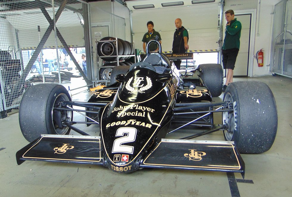 The Most Historic Grand Prix 2018. Lotus 91