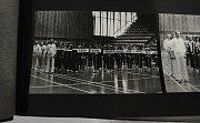Městská sportovní hala v Mostě se otevřela veřejnosti při oslavě 40 let od zahájení provozu.