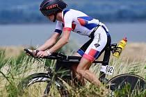Triatlonista Jakub Langhammer. Na Czechmana dorazí z Austrálie, kde žije.