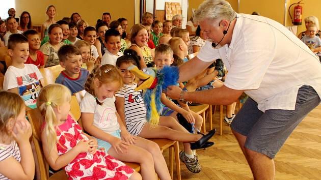 Rozlučka se školním rokem pro děti z MŠ a ZŠ v Louce u Litvínova