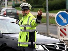 Regulovčíci soutěžili v řízení dopravy
