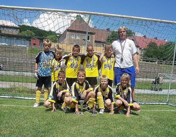 Přípravka FŠ Most získala na turnaji v Litvínově třetí místo.