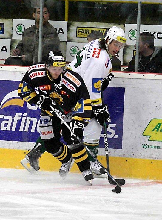 Hokejisté Litvínova doma porazili Karlovy Vary