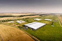 Vizualizace výrobního závodu Kiswire v průmyslové zóně Triangle.