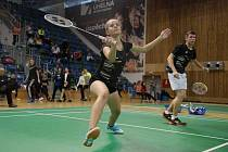 Mostecká badmintonistka Kristina Kozempelová.