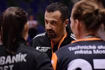 Mostecký trenér Jiří Tancoš.