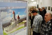 """V roce 2012 se v Oblasním muzeu v Mostě konala výstava """"Zapomenuté příběhy – každodenní život na středověkých hradech Mostecka""""."""