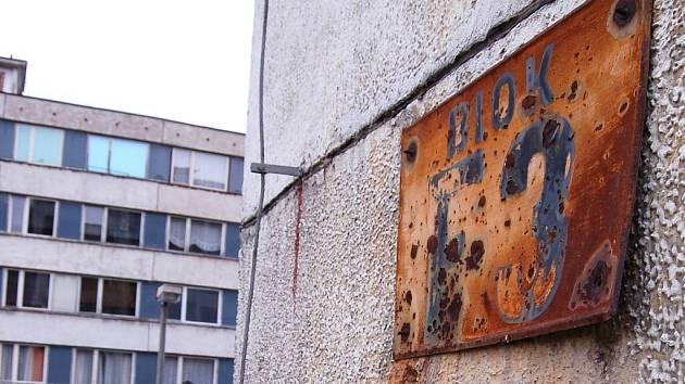 Blok F3 - janovská hrůza, vzor ghetta.