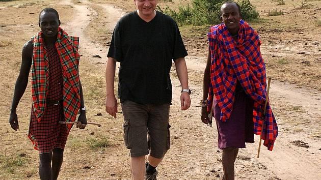 Keňa, Masai Mara, červenec 2009.