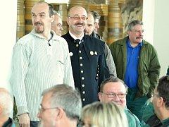 Prezident potěšil horníky z Mostecka svým pozitivním přístupem k těžbě uhlí.