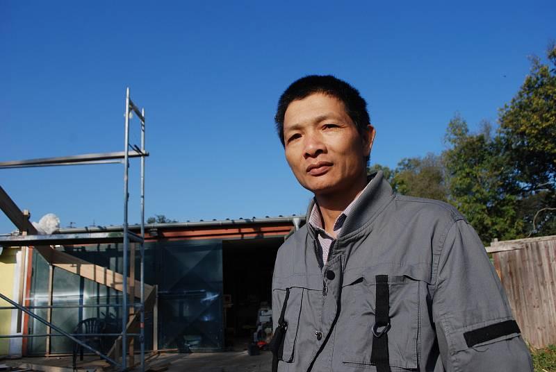 Víska Chanov, obchodník Nguyen Van Thuan.