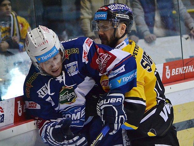 Litvínov v domácím zápase o páté místo v tabulce hostil brněnskou Kometu.